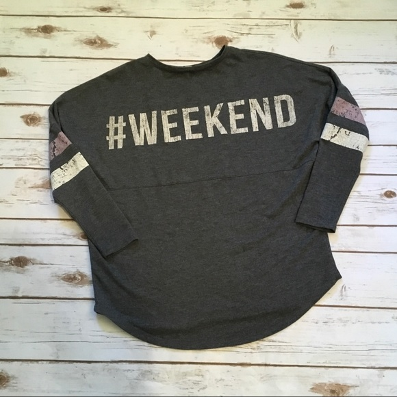 About A Girl Tops - [About A Girl] #Weekend Baseball Style Tee